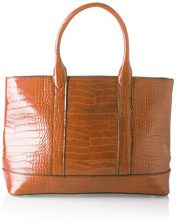 SwankySwans Audrey Faux Leather Tote Bag Wallet - Borse Donna, Marrone (Tan), 12x30x34 cm (W x H x L)