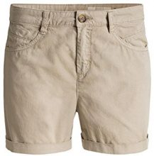 edc by Esprit 056CC1C014-5-Pocket Style, Shorts Donna, Beige (BEIGE 270), 38