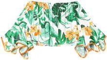 FIND Blusa con Stampa Tropicale Donna, Multicolore (Multicoloured), 46 (Taglia Produttore: Large)