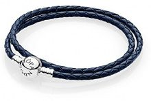 Pandora Bracciali di corda Donna argento - 590745CDB-D3