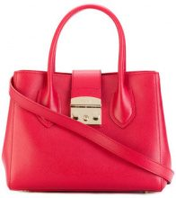 Furla - Metropolis tote bag - women - Calf Leather/Viscose/Nylon - One Size - RED