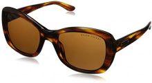 Ralph Lauren Donna 0RL81320773 Occhiali da sole, Marrone (Stripped Brown Havana/Brown), 55