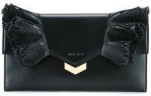 - Jimmy Choo - Isabella clutch - women - Calf Leather - Taglia Unica - Nero
