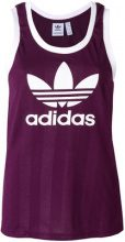 Adidas - Canotta con logo stampato - women - Polyester - 44, 46 - PINK & PURPLE