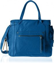 Liebeskind Berlin Virginia Sporty - Borse a spalla Donna, Blau (Electric Blue), 42x45x14 cm (L x H D)