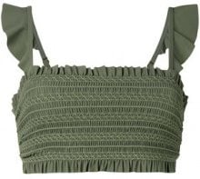 Tory Burch - Top 'Costa' - women - Nylon/Spandex/Elastane - XS, S - GREEN