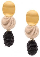 Lizzie Fortunato Jewels - Nightfall drop earrings - women - Gold Plated Brass - OS - METALLIC