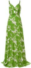 Nº21 - bird floral print dress - women - Silk - 40, 44 - GREEN