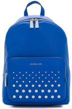 Michael Michael Kors - Wythe large backpack - women - poliacrilico/Leather - OS - BLUE