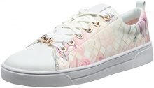 Ted Baker Ahfira, Sneaker Donna, Rosa (Sea of Clouds #ffc0cb), 41 EU