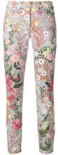 Cambio - Pantaloni crop - women - Cotton/Spandex/Elastane - 36, 42, 44 - GREY