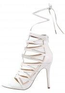 Sandali con cinturino - white