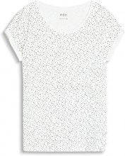 edc by Esprit 997cc1k803, T-Shirt Donna, Bianco (Off White 110), Small