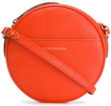 L'Autre Chose - Borsa a spalla circolare - women - Calf Leather/Polyamide/Polyester - OS - YELLOW & ORANGE