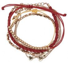 ONLY 5-pack Bracelet Women Red