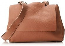SwankySwans Kelly 2 In 1 Shoulder Handbag - Borse a spalla Donna, Marrone (Tan), 12x24x30 cm (W x H x L)
