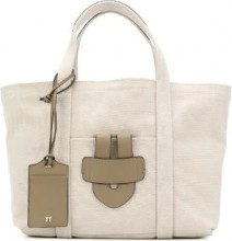 Tila March - Borsa tote 'Simple' - women - Canvas/Leather - OS - NUDE & NEUTRALS