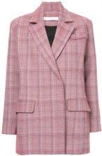Tiko Paksa - Blazer a quadri - women - Polyurethane/Viscose/Wool - XS, S, M - PINK & PURPLE
