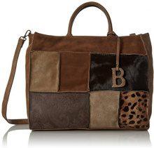 Bulaggi Rustin Satchel - Borse a secchiello Donna, Braun (Taupe), 31x13x38 cm (B x H T)