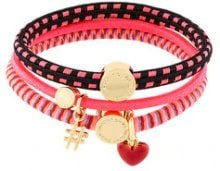 Marc Jacobs - Bracciale con elastici - women - Nylon - One Size - PINK & PURPLE