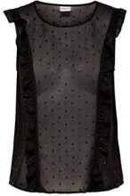 ONLY Printed Sleeveless Top Women Black