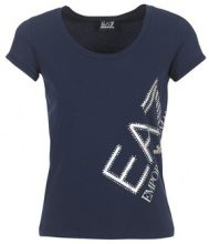 T-shirt Emporio Armani EA7  TRAIN LOGO SERIES STRASS