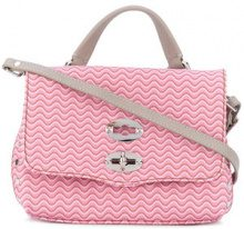 Zanellato - baby Postina printed crossbody bag - women - Leather - OS - PINK & PURPLE