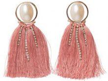 PIECES Detailed Earrings Women Gold