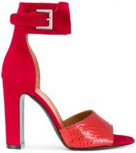 Via Roma 15 - Sandali con fascia alla caviglia - women - Leather/Patent Leather/Suede - 36, 37, 38, 40, 41 - Rosso