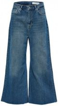 SELECTED Cropped Wide - Jeans Women Blue