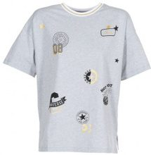 T-shirt Converse  CONVERSE ALL OVER PATCH BOXY TEE
