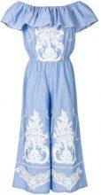 Black Coral - Tuta intera - women - Cotton - S - BLUE