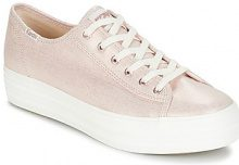 Scarpe Keds  TRIPLE KICK METALLIC LINEN