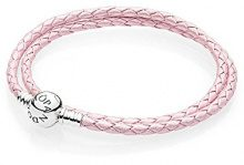 Pandora Bracciali di corda Donna argento - 590745CMP-D1