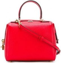 Dolce & Gabbana - Miss Sicily bowler tote - women - Leather/Brass - OS - RED