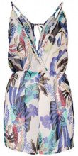 ONLY Printed Playsuit Women Blue