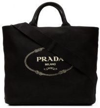 Prada - Tote 'Gardener' - women - Cotton - OS - BLACK