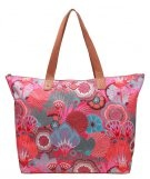 BEACH - Shopping bag - raspberry