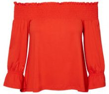 VERO MODA Off-shoulder 3/4 Sleeved Blouse Women Red