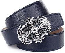 Anthoni Crown A1WT80, Cintura Donna, Blau (Blue 080), 105 cm