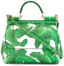 Dolce & Gabbana - Sicily tote bag - women - Calf Leather - OS - GREEN