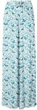 Onia - Chloe palazzo pants - women - Viscose - XS, S, M, XL - BLUE