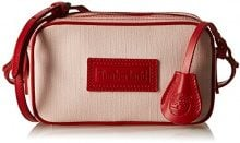 Timberland TB0M5407, Borsa a tracolla Donna, Rosso (RED), 7x12x20.5 cm