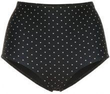 Matteau - Slip bikini a vita alta - women - Nylon/Spandex/Elastane - 6 - BLACK
