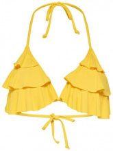 ONLY Frill Bikini Top Women Yellow