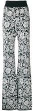 Balmain - Pantaloni in jacquard - women - Viscose - 38 - WHITE