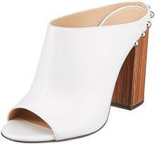 Hugo Uptown Mule-s, Ciabatte Donna, Bianco (White 100), 36 EU