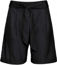 Pantaloncino con cintura da annodare (Nero) - BODYFLIRT