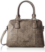 Betty Barclay Zip Bag - cartella Donna, Braun (Chocolate), 17x25x37 cm (L x H D)