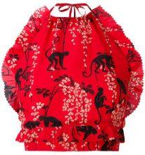 Red Valentino - Top - women - Silk/Cotton - 40, 44, 42, 38 - RED